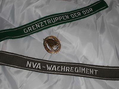 A1: Militär Ärmelstreifen , NVA , DDR , Wachregiment , Grenztruppen , Abzeichen