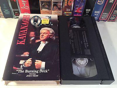 Kavanagh Q.C.: The Burning Deck Rare TV Series Drama VHS 1997 OOP HTF 100 min