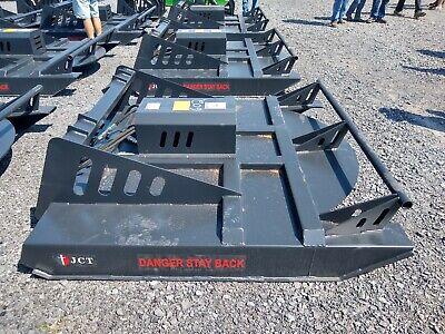 New 6 Jct Skidsteer Skid Steer Brush Bush Hog Mower Cutter Attachment. 72