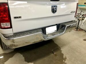 2009-2018 Dodge Ram rear bumper