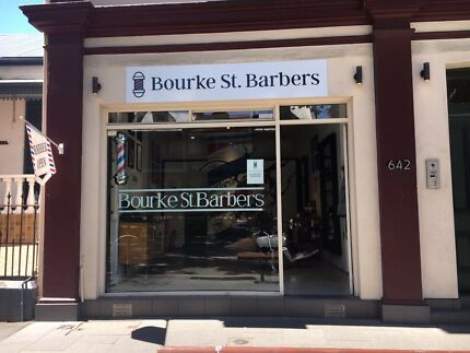 Barber Shop for Sale Surry Hills