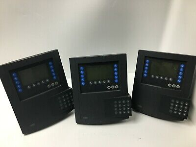 Lot Of 3 Kaba Benzing Employee Time Clock Parts Only As Is 04072543