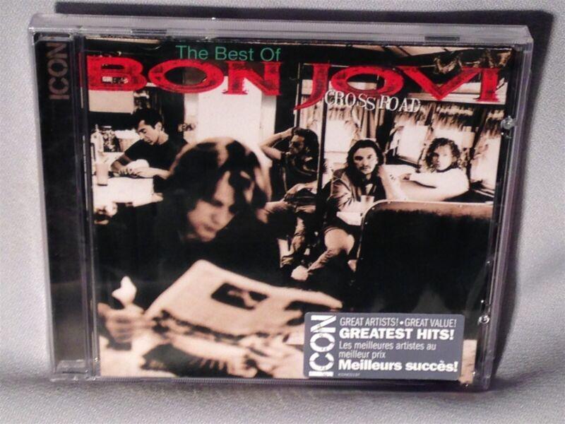 Cd Bon Jovi Icon Greatest Hits Cross Road (bonjovi Crossroad) New Mint Sealed