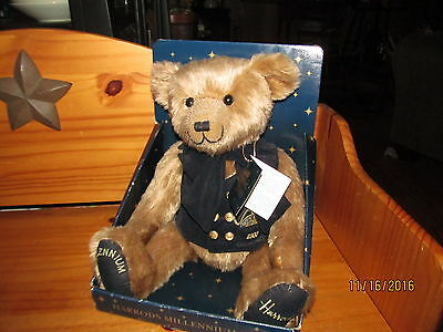 "HARRODS Knightsbridge 2000 Millennium 12"" Teddy BEAR In Box w/ Tags"