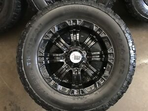 "18"" RBP 8 lug Black Aluminum HD Rims"