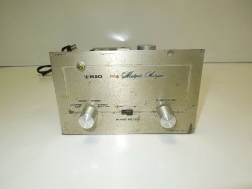 Vintage TRIO Tube FM Multiplexer Tuner Multiplex Adaptor Stereo Kenwood