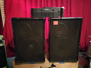 Amp and speakers Ultimo Inner Sydney Preview