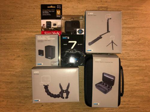 GoPro Hero 7 Black Bundle -- Everything New -- Free Shipping -- Best Value
