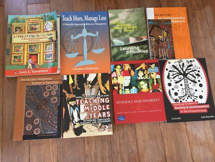 Education textbooks primary uni