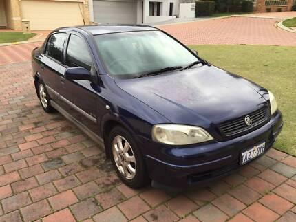 2001 Holden Astra Sedan Como South Perth Area Preview