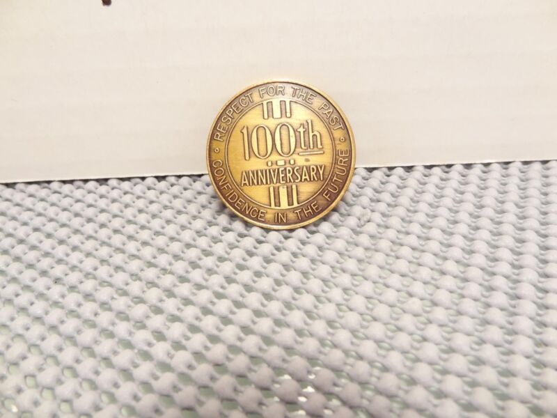 1870-1970 100th Anniversary,Fonda,Iowa Coin