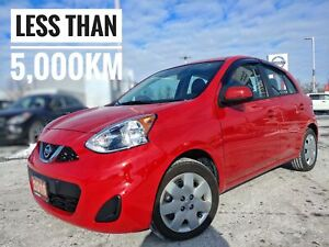 2016 Nissan Micra SV Super Low KM  FREE Delivery