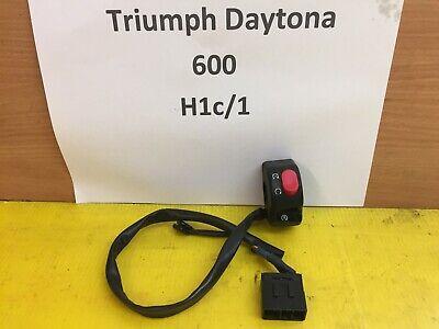 TRIUMPH DAYTONA 600 650 RIGHT SWITCHGEAR SWITCH START STOP BREAKING SP