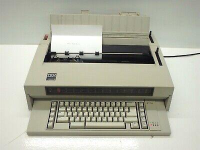 Vintage Ibm Selectric Wheelwriter 3 Electric Typewriter 674x