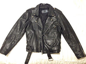 Vintage Leather Bikers Jacket Manly Vale Manly Area Preview