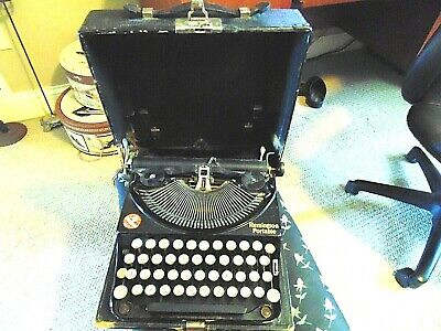 Vintage Remington Typewriter  #1 Portable 1920's  FLIP UP POP UP KEYS WORKS