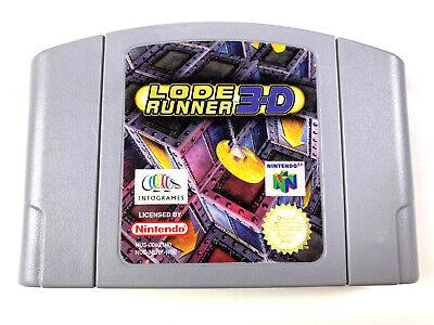 Lode Runner 3D - N64 Nintendo 64 PAL EUR