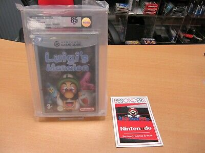 Nintendo GAMECUBE - LUIGI´S MANSION - NEU - VGA 85 NM+ NEU...