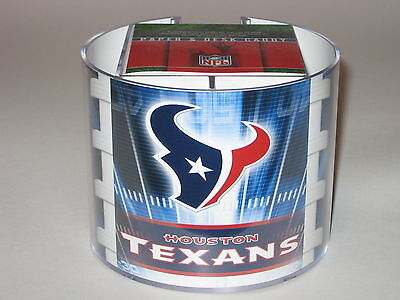 (Houston Texans Team Logo Desk Caddy with 750 Sheet Note Pad)