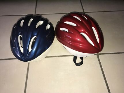 N.2 Helmets for bike for $10 for both