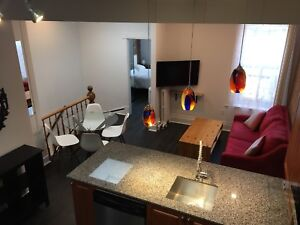Fully furnished apartment all included 2bedroom Downtown/Plateau