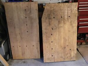 Two work Bench Tops