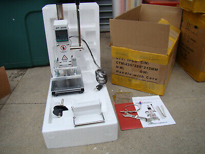 Wentong Hot Foil Stamping Machine Wt-90as Leather Heat Transfer Embosser