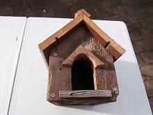Bird House -small - Handmade recycled Vintage American Cedar Peakhurst Hurstville Area Preview