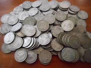 silver coins 2 kilos of Australian florins 50 % silver Swansea Lake Macquarie Area Preview