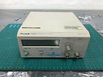 Fluke Pm6662411 Frequency Counter 160mhz1.3ghz W Pm9608b Option