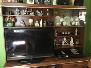 Big wall unit will measure shortly 2 pc unit for sale