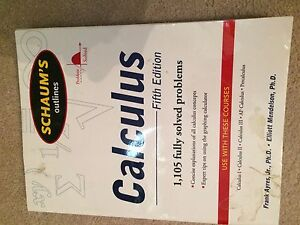 Schaum's Calculus Fifth Edition Study Guide