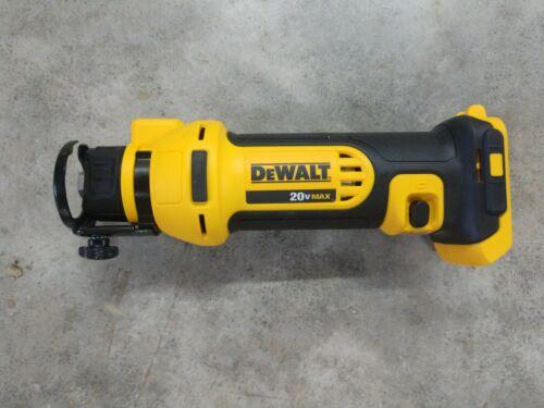 DeWalt 20V Max Drywall Cutout Tool Model# DCS551