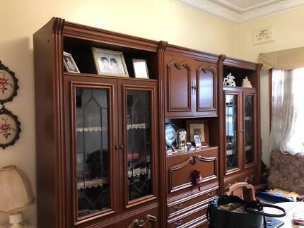 Large Formal Dining Room Cabinet