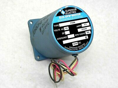New Superior Electric Slo-syn Ts50 Stepper Motor Synchronous Stepping 120v Lv