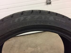 205/40/R17 Winter Tires Blizzack WS80 Studless