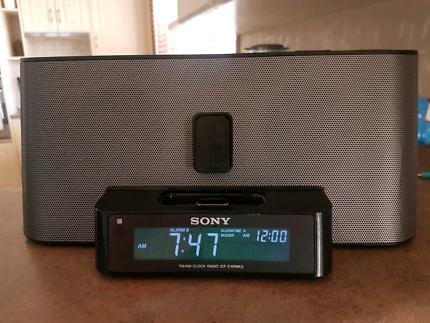 Sony ipod/radio dock