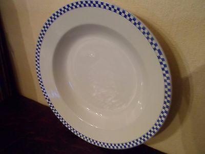 Magnifique Assiette creuse Opaque de Sarreguemines - 24 cm COMME NEUVE 3 PHOTOS