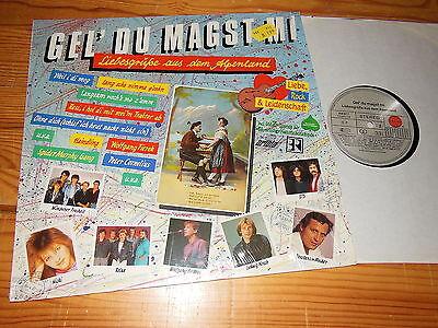 GEL' DU MAGST MI - V.A. (COSI, STS, AMBROS, HIRSCH) / GERMANY-LP 1987 MINT-