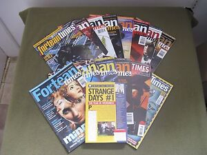Collection of Fortean Times Magazine + Book