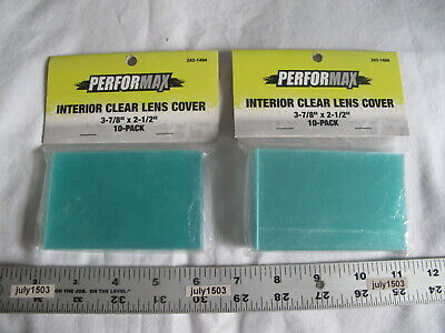 20 New Interior Clear Replacement Lens Cover 3-78 X 2-12 Welding Helmet