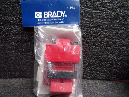 BRADY 65397 480-600 VOLT, NO HOLE,CIRCUIT BREAKER LOCK-OUT (C)