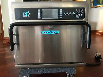 Turbochef I3 Rapid Cook Commercial Oven 208240v 3 Phase Only 7 Hrs Of Use