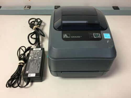Zebra GX420t Thermal Barcode Label Printer
