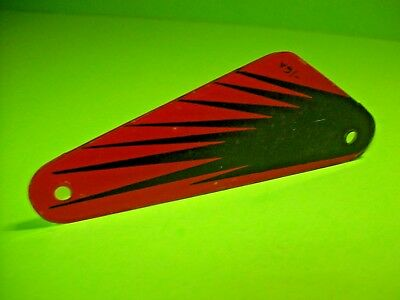 Royal Rumble Used Pinball Machine Plastic Sling Shot Shield Right Side Only -16A