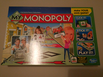 NEW Monopoly - Make your own Game