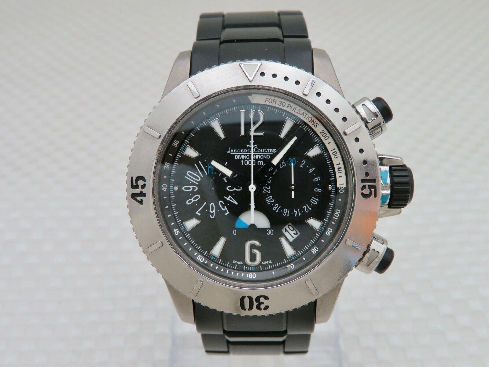 Jaeger Lecoultre Master Compressor Diving Chronograph- Titanium 160.T.25 – 44 MM - watch picture 1