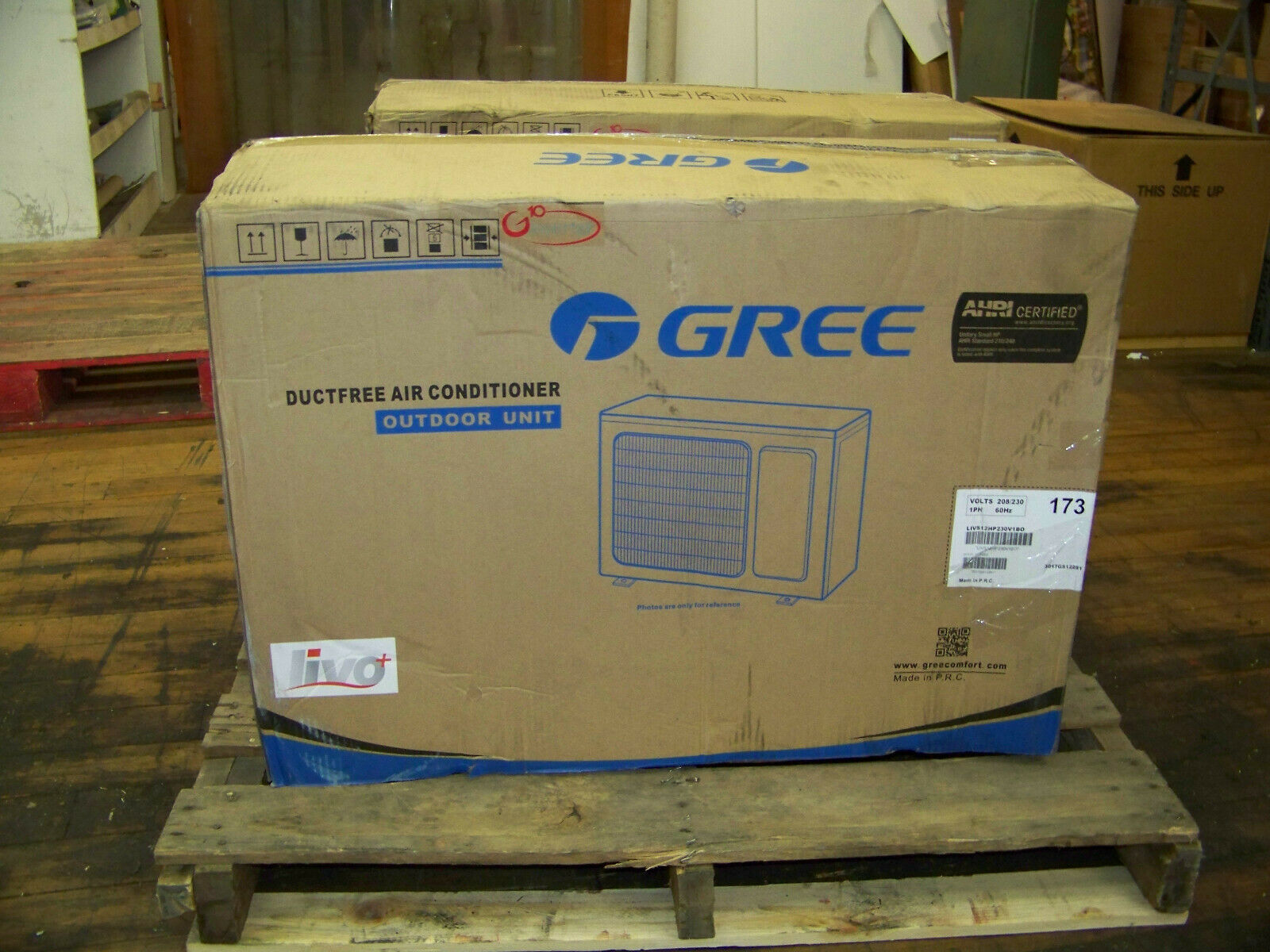 Gree Inverter Ductfree Air Conditioner Outdoor Unit 208/230V