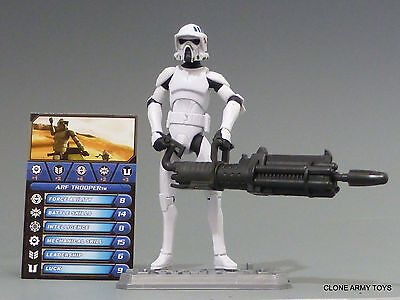 STAR WARS ARF TROOPER CLONE WARS COLLECTION CW18 TCW SOTDS LOOSE