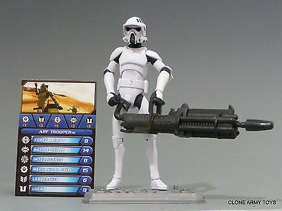 STAR WARS ARF TROOPER CLONE COLLECTION CW18 TCW SOTDS LOOSE - Star Wars Arf Trooper